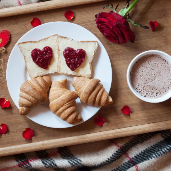 Colazione A Letto Romantica.Coccole A Colazione Come Stupire Il Partner Per La Colazione Di