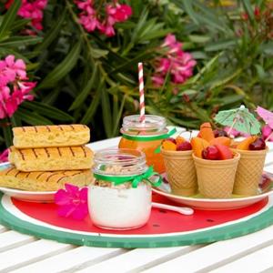 tavola completa-colazione estiva